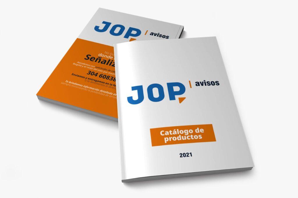 Catalogo JOP Avisos